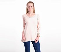 Women Studs Top, Blush