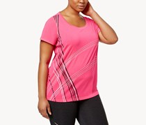 Ideology Plus Size Graphic T-Shirt,  Motlen Pink