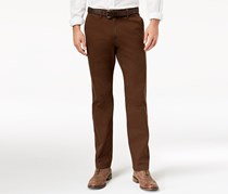Tommy Hilfiger Men's Custom Fit Chino Pants, Brown