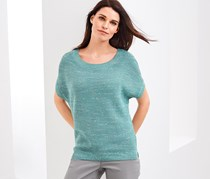 Women's knitted Sweater, Jade