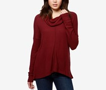 Lucky Brand Cowl-Neck Thermal Top, Port Royal