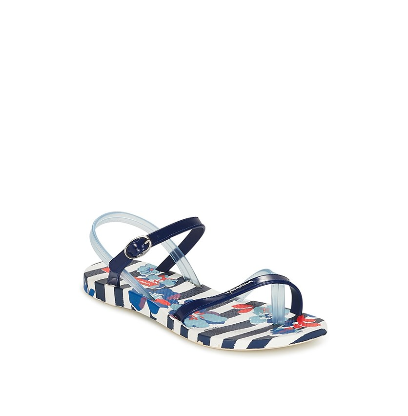 Kids Girl Fashion Sandals, Blue/White