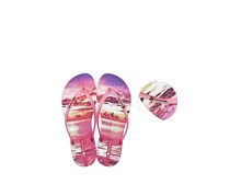 Ipanema Women's Wave Tropical Slipper, Pink