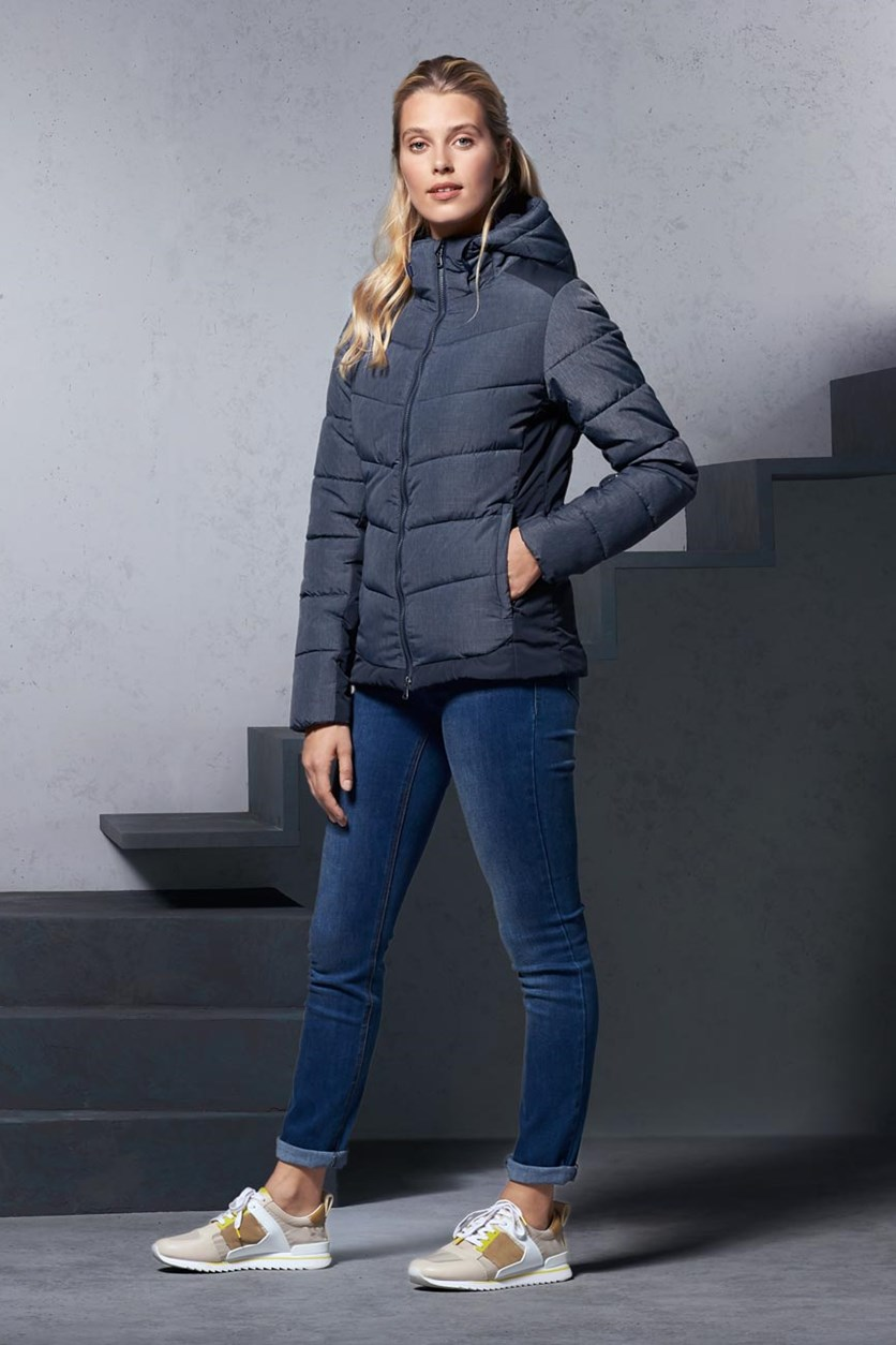 Women's Quilted Jacket, Blue