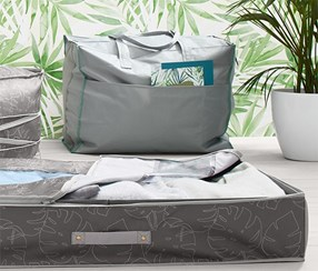 Large Bedding Bag, Grey