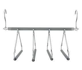 Space Saving Hangers, Grey
