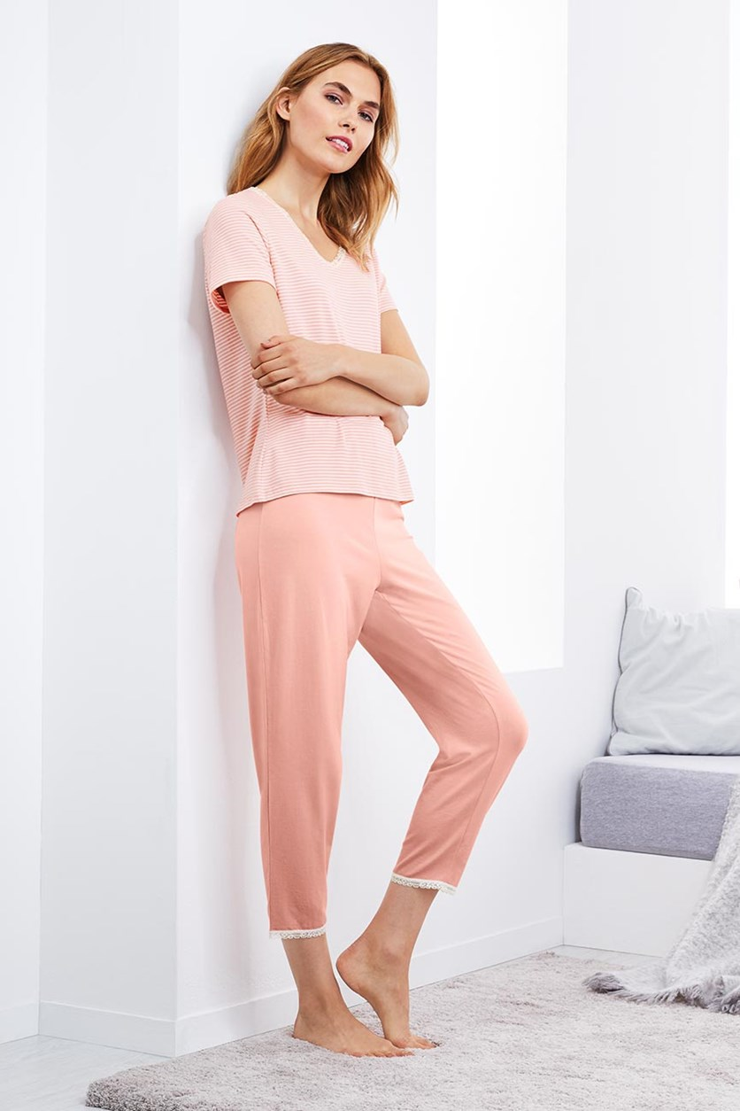 Women's Pajama Set, Pink