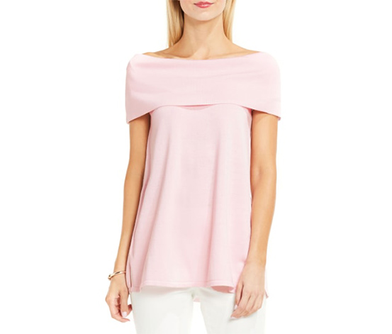 Vince Camuto Women's Knit Pullover, Pink