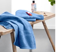 Towel Set of 2, Light Blue