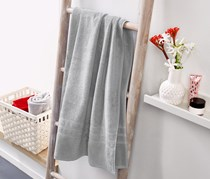 Bath Towel, Grey