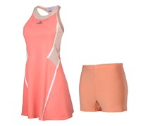 Women Australia Dress Casual Sport, Coral/Rose