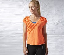 Reebok One Series Triblend V-Neck, Orange