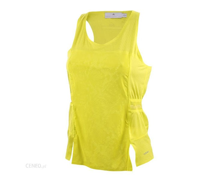 Women Running Adizero Tank, Bright Yellow