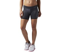 Reebok Crossfit Chase Mid Fitted Short, Coal