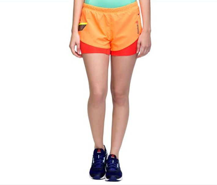 Women's Running One Series Short, Orange