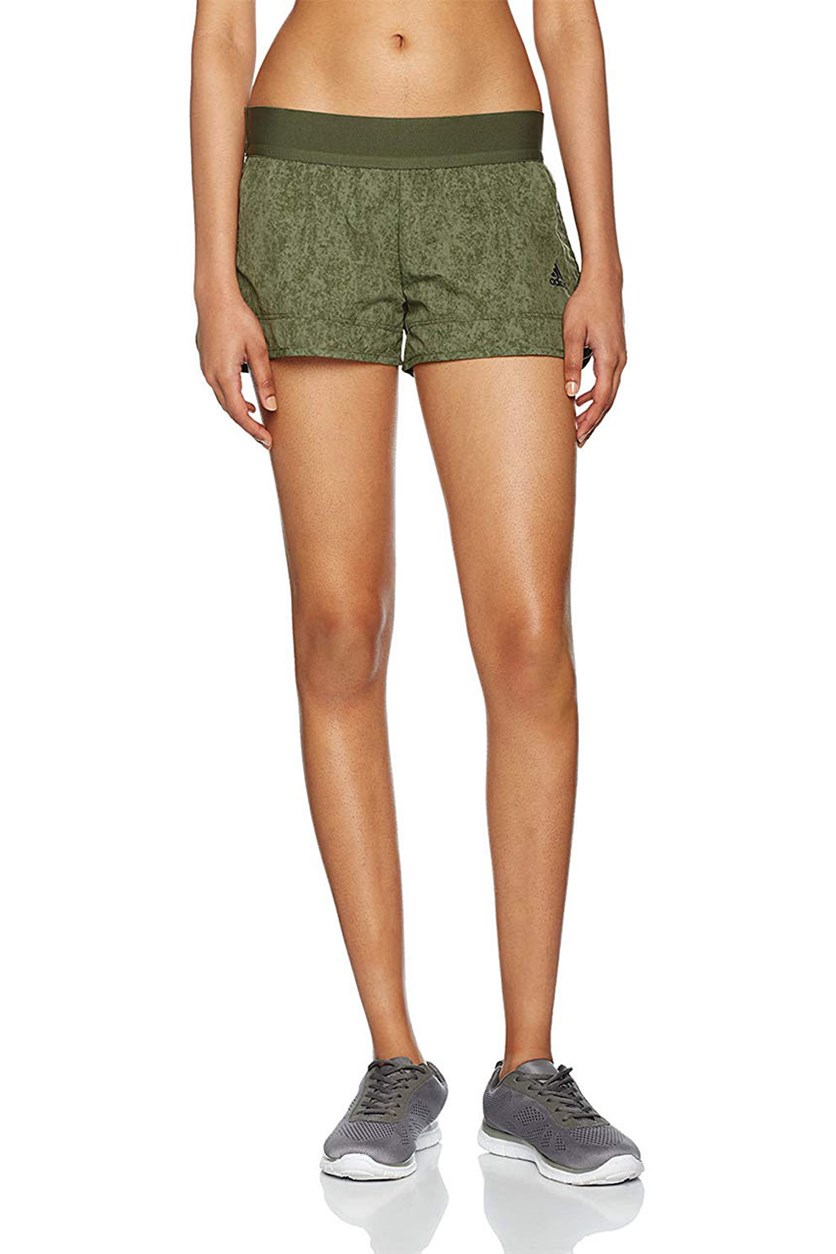 Women's Moonwash WV Short, Green