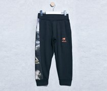 Reebok Kids Jungle Sweatpants, Black/Orange