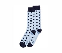 Bar III Mens Patterned Dress Socks, Butterfly Dot