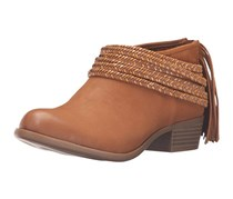 BCBGeneration Women's Bg-craftee Ankle Bootie, Camel Soft Goat