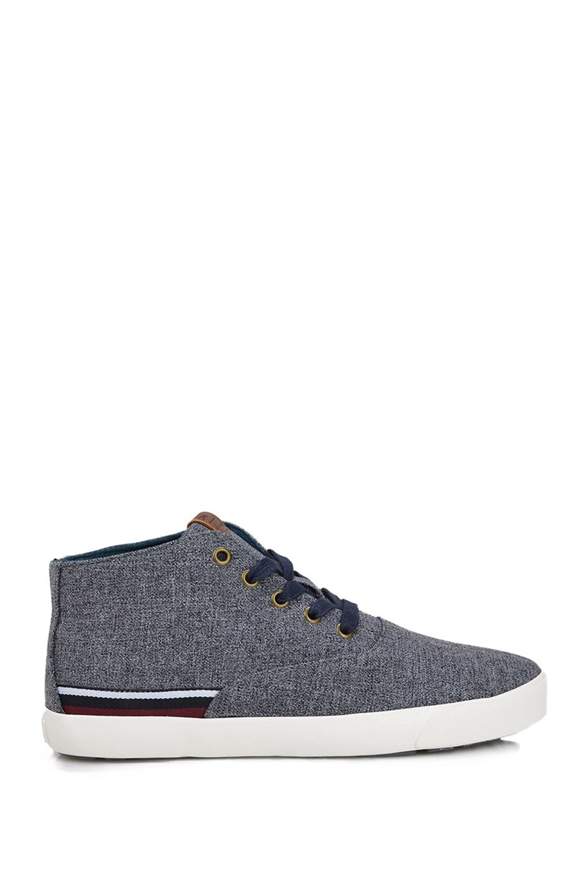 Pete Mid-Top Sneaker, Dark Grey