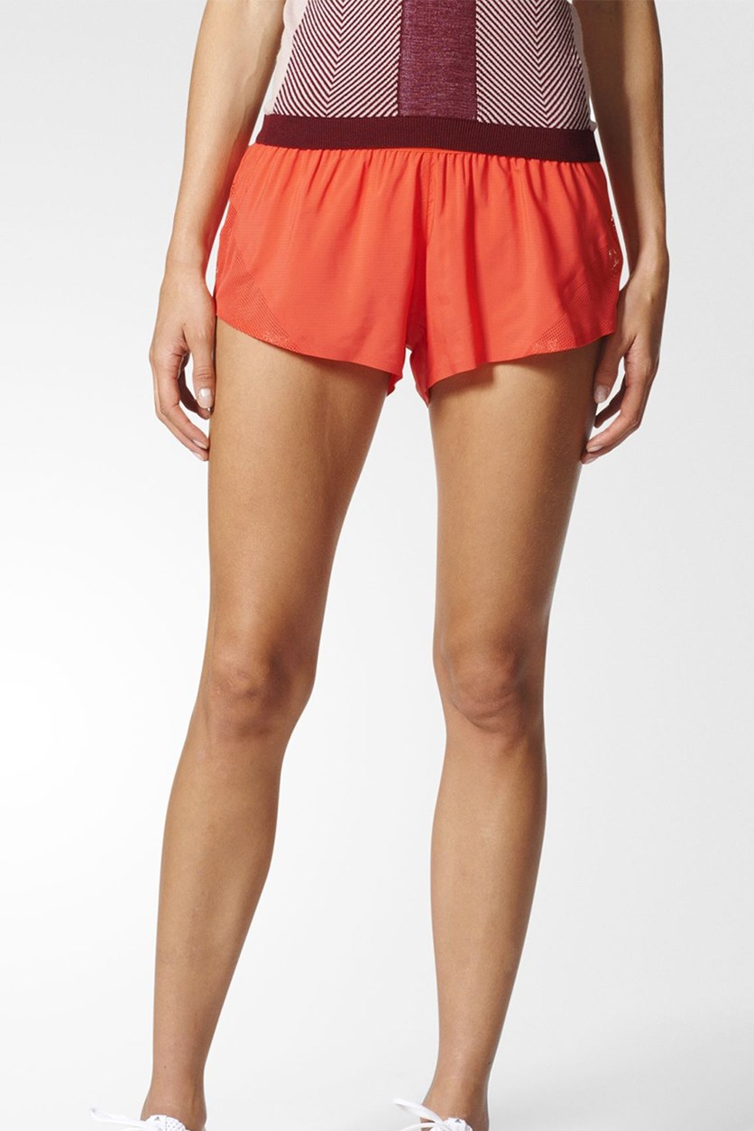 by Stella McCartney Running Adizero Short,  Bright Red