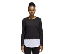 Adidas Women's Athletics Layer Sweatshirt, Black