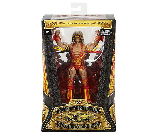 WWE Defining Moments Ultimate Warrior Elite Figure, Red/Beige