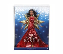 Barbie 2017 Holiday African American Nikki Doll, Red