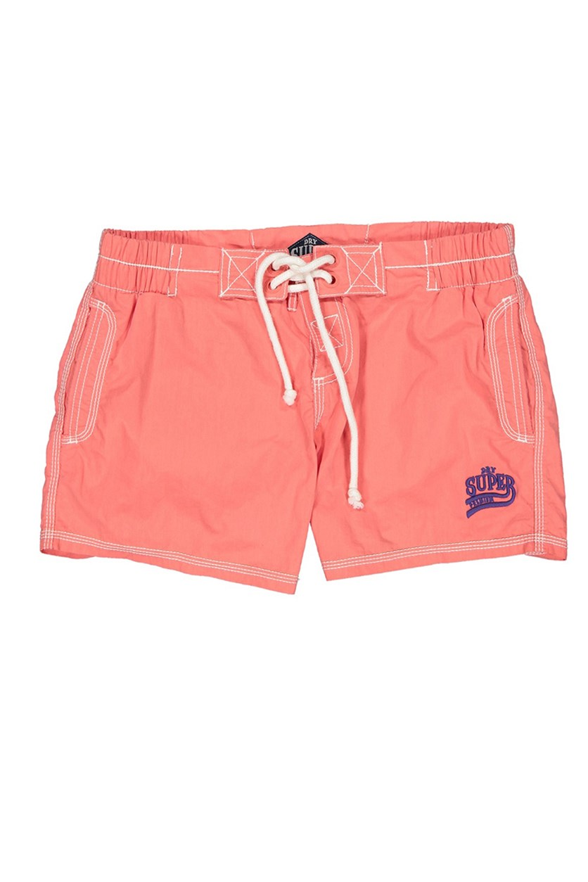 Premium Beach Short, Peached Pink
