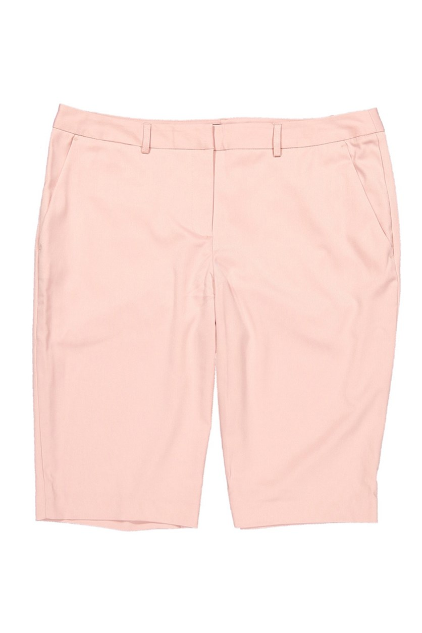 Women's Studio Stretch Bermuda Short, Mellow Rose