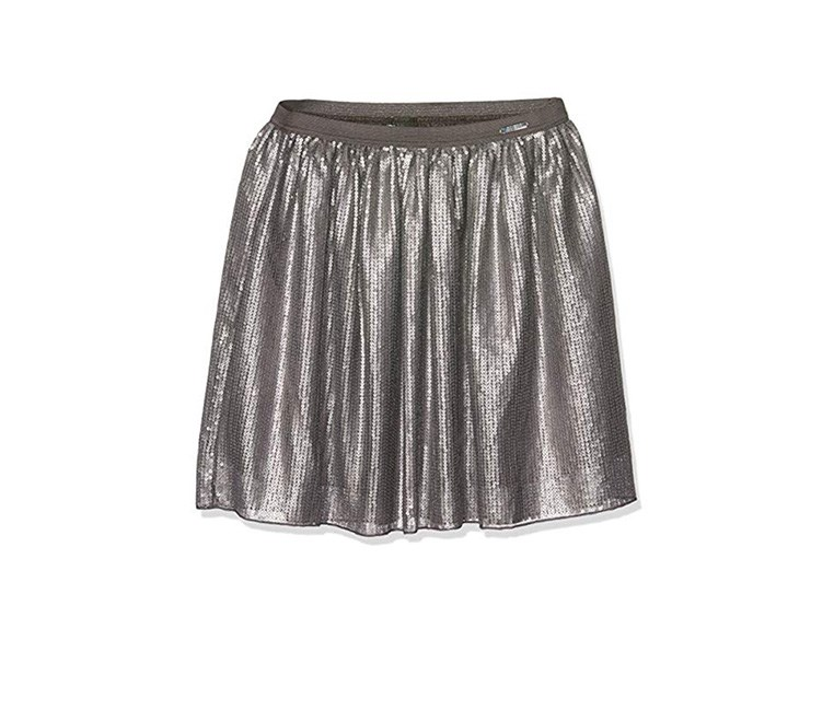Girls Skirt, Gray