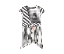 Guess Kids Girls Stripe Dress, Black/White