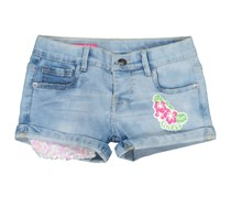 Guess Toddlers Five Pockets Short, Blue