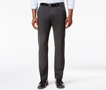 Kenneth Cole Reaction Men's Stretch Slim-Fit Dress Pants, Dark Gray