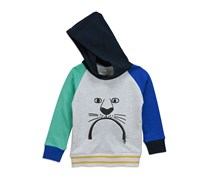 Sovereign Code Toddlers Fox Hill Pullover Hoodie, Navy/Grey Combo