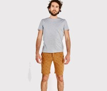 House Mens Printed Short, Camel
