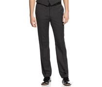 Bar III Men's Fit Pants, Charcoal Neat