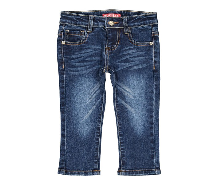 Toddlers Five Pockets Jeans, Blue