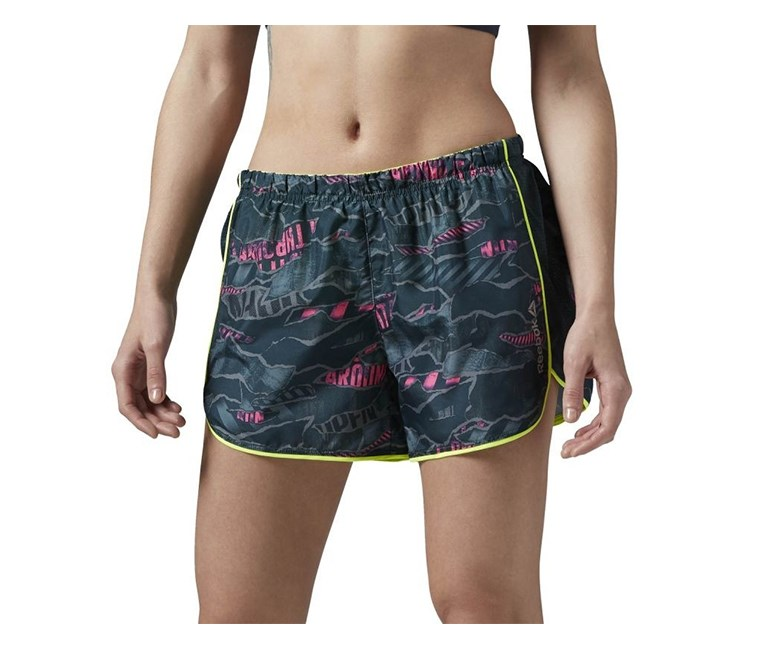 Women's Running Essentials Short, Gray Combo