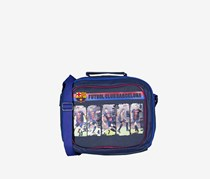FCB Insulated Lunch With Strap, Blue