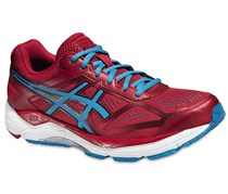 Asics Gel-Foundation 12 Men's Running Competition Shoes, Red/Blue