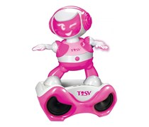Tosy Disco Robo With Speaker Special Set, Pink