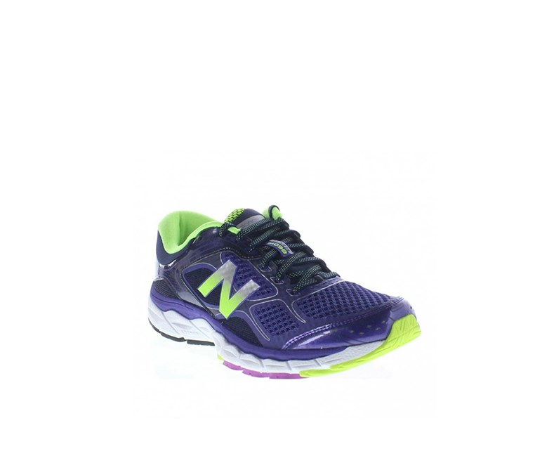 Women's Running 860 v6 Running Shoes, Purple/Lime