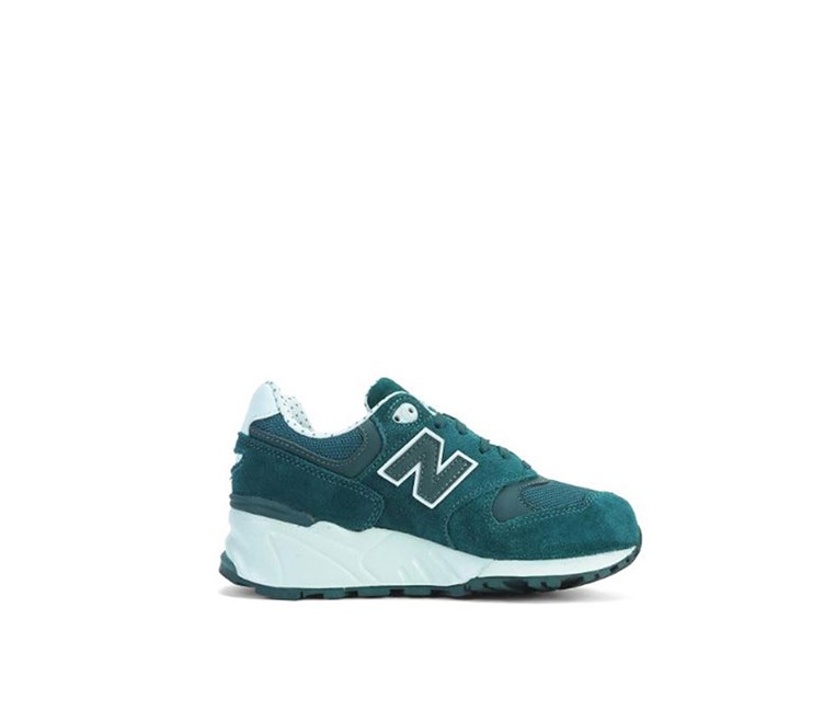 Women's WL999AB Capsule Shadows Sneakers, Dark Teal