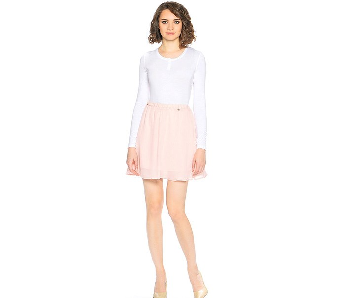 Women's Skirt, Beige
