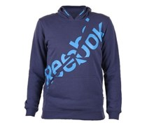 Reebok Boy's Sweaters Long Sleev, Navy/Blue