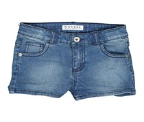 Guess Toddlers Five Pockets Short, Denim Blue