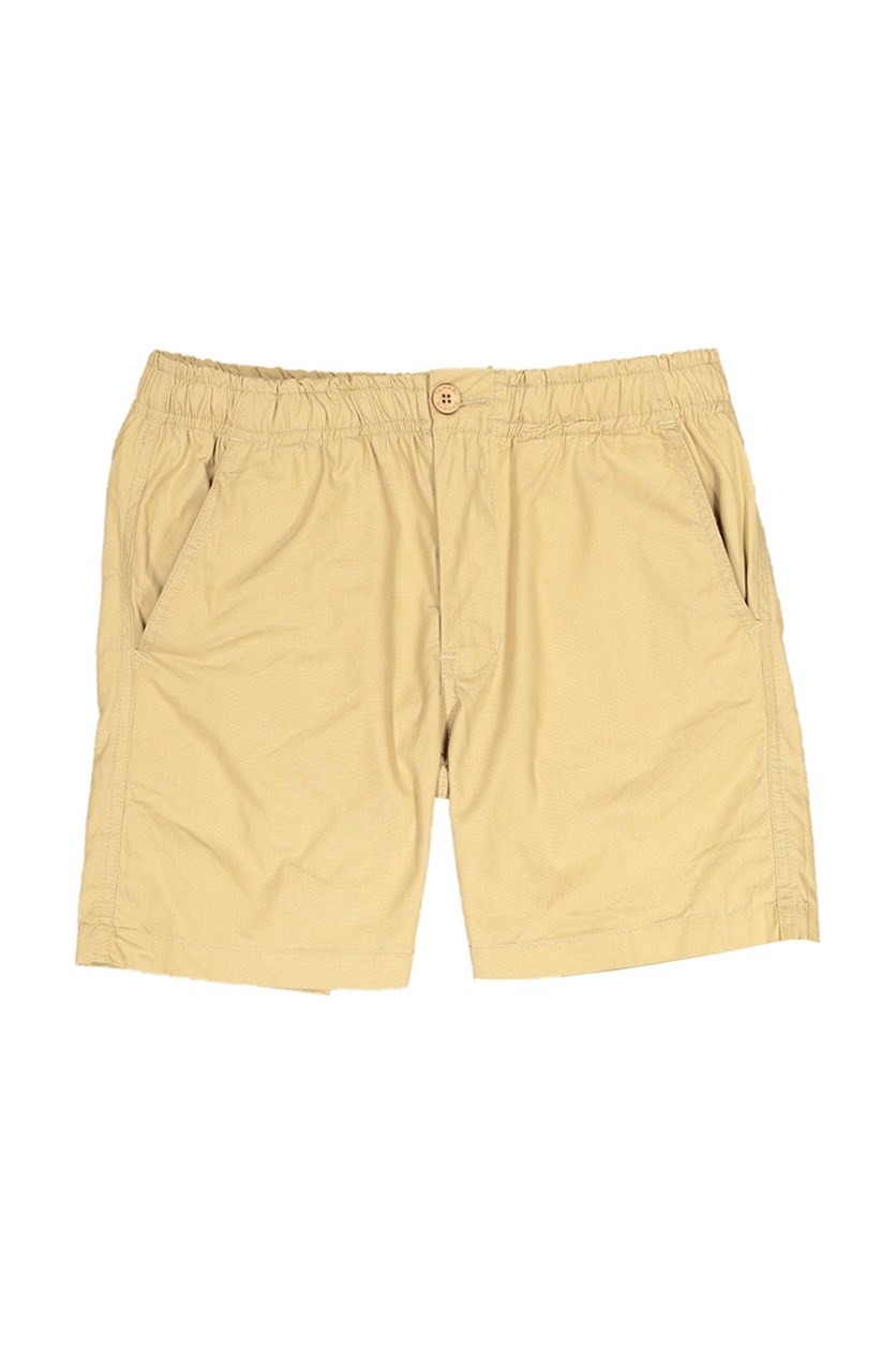 Men's Plain Shorts, Khaki