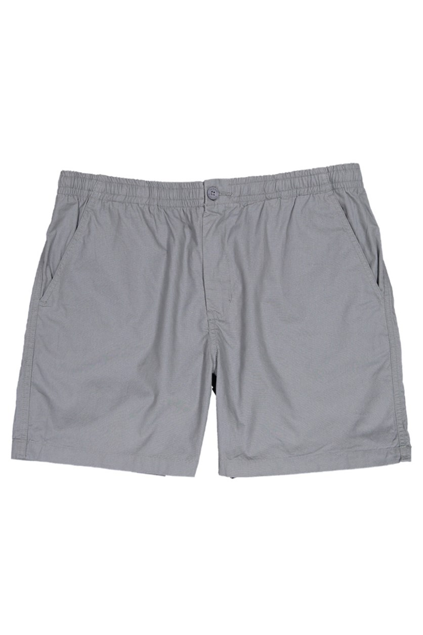 Men's Plain Shorts, Light Gray