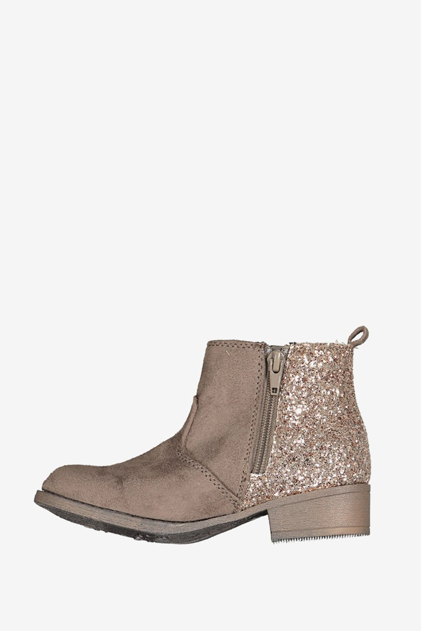 Big Girls Adison Smoke Boot, Taupe